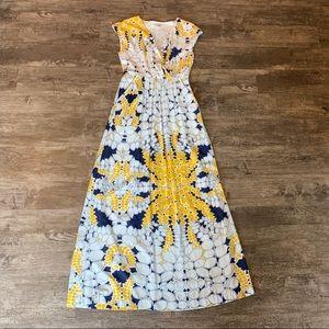 GAP Dresses - *BOGO* Gap Ivy Print Sleeveless Maxi Dress